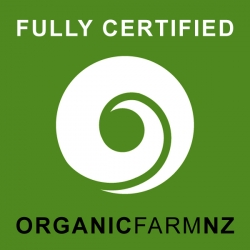 Abundant Backyard is a fully certified organic farm.