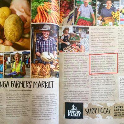 Tauranga Farmers Market article